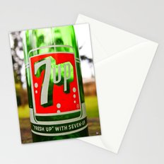 Classic 7 Up bottle Stationery Cards