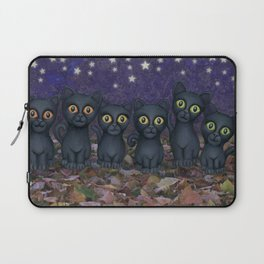 black cats, stars, & moon Laptop Sleeve