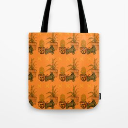 Garden Donkey Tote Bag