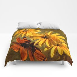 Sunshine in my Garden Two Comforters