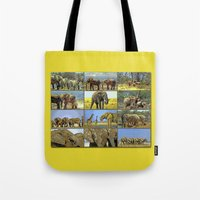 wildlife Tote Bags featuring Wildlife by Karl-Heinz Lüpke
