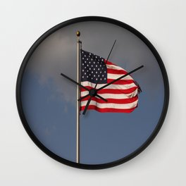 These Colors don't Bleed Wall Clock