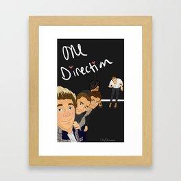 The One Direction Framed Art Print