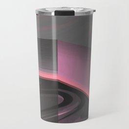 Claraboya, Geodesic Habitacle, Pink neon room Travel Mug
