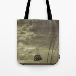 Black and White Tree Tote Bag