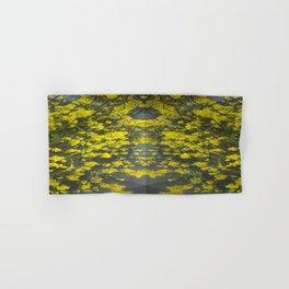 Mustard Rising Hand & Bath Towel
