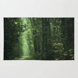 Another Sunlit Woodland Rug