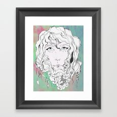 Elle Framed Art Print