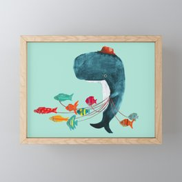 My Pet Fish Framed Mini Art Print