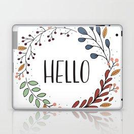 Hello Fall Wreath Laptop & iPad Skin