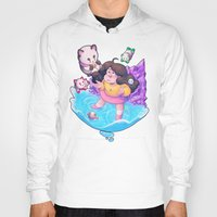 puppycat Hoodies featuring Bee and Puppycat- Dream by merrigel
