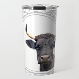 Yellow Horns Travel Mug