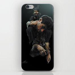 Heavy Shoulders iPhone Skin