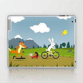Happy riders Laptop & iPad Skin