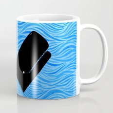 Whale in the Sea Mug