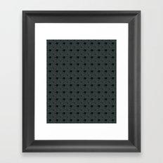 Gloomy Garden Framed Art Print