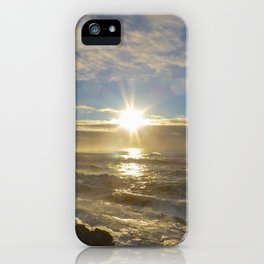 Storm Subsiding iPhone Case