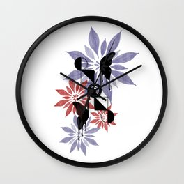 Mind & Heart Wall Clock