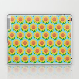 Sunflower Pattern_F Laptop & iPad Skin