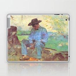 """Henri de Toulouse-Lautrec """"Le Jeune Routy à Céleyran"""" Laptop & iPad Skin"""