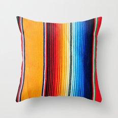 zarape Throw Pillow