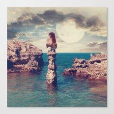 Where the silence has lease Canvas Print