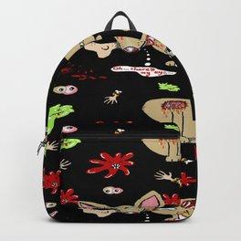 Zombie Chihuahua Backpack