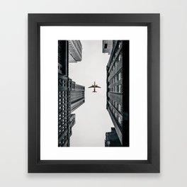City Calm Down Framed Art Print