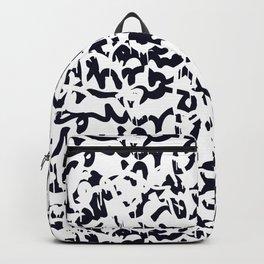 Graffiti art background Backpack