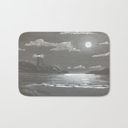 Quiet Night Bath Mat