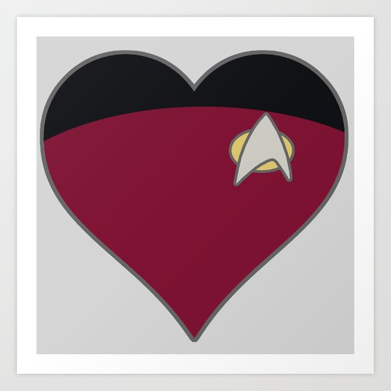 Star Trek Art Print