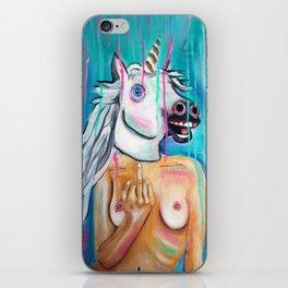 Because I'm a unicorn, that's why iPhone Skin