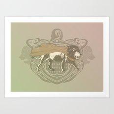 Fearless Creature: Leeoh Art Print