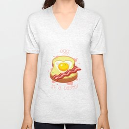 Egg in a Basket Unisex V-Neck