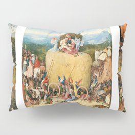 The Haywain Triptych by Bosch 1519 Pillow Sham