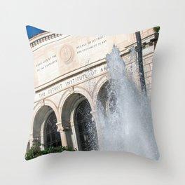 Detroit Institute of Arts Throw Pillow