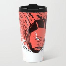 Kendrick Lamar - Damn. Metal Travel Mug