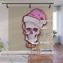 Season's Greetings Wall Mural