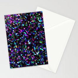 Mosaic Glitter Texture G45 Stationery Cards