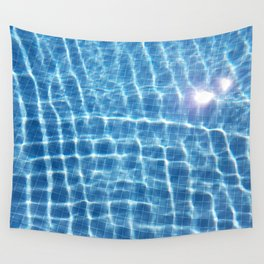 Dive in and Relax Wall Tapestry