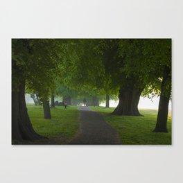 Beddington path in summer Canvas Print