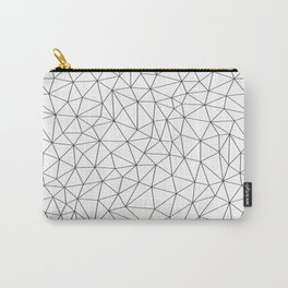 Low Pol Mesh (positive) Carry-All Pouch