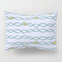 Baesic Golden Mermaid Chain Pillow Sham