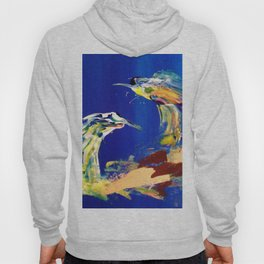 Abstract (Two Birds) Hoody