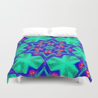 kaleidoscope Duvet Covers featuring Kaleidoscope by Mr and Mrs Quirynen