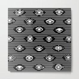 Wide Eyes Metal Print