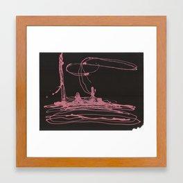 ballerina3 Framed Art Print