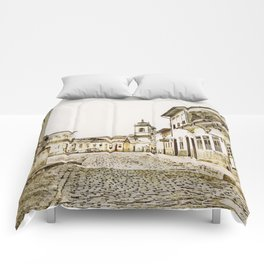 Historical city Comforters