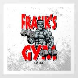 Frank's Gym Art Print