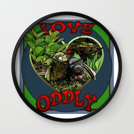 Love Oddly Wall Clock
